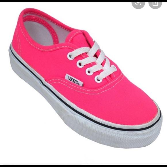 Vans Shoes | Vans Hot Pink | Poshmark